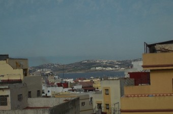 A substantial family home or a fabulous opportunity to create a maison d'hote that benefits from a fabulous view over the rooftops, the harbour and the bay of Tangiers.