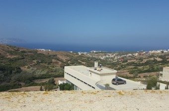 Splendid villa with magnificent views over the bay of Tangier.