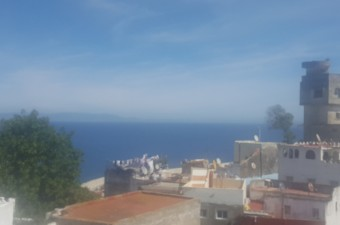 Beautiful house of 165m ², with splendid views of the Detroit of Gibraltar, the Kasbah and all the bay of Tangier.