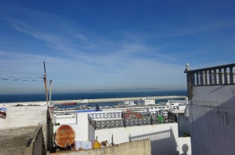 Beautiful house of 62m² per floor with magnificent views of the sea and the medina.