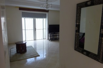 Residential apartment in Marshan composed of a living room and two bedrooms.