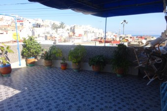 Great opportunity to buy a house in the heart of the Medina of Tangier, and more precisely in the zawya Naciria.